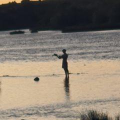 Fishing on the Orange River near Colesberg