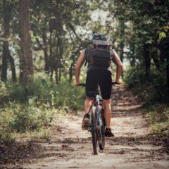Mountain biking near Colesberg